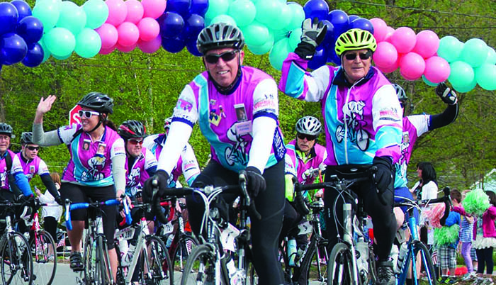 Ride for Missing Children Bike riders